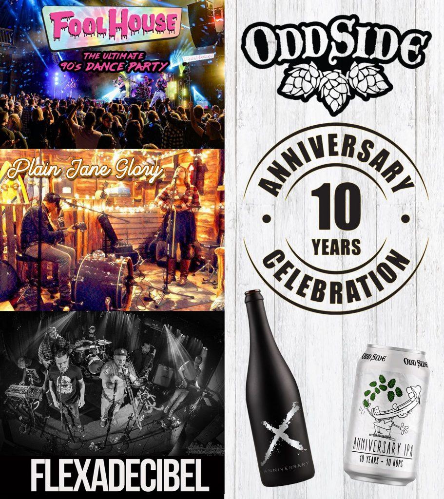 Odd Side Ales Anniversary Banner